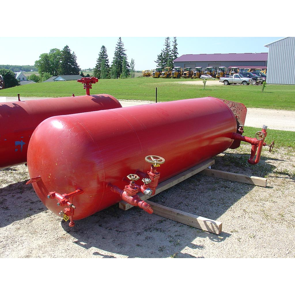 vertical ammonia receiver tank c 986 7 a for sale